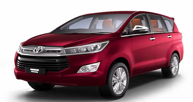 the best Toyota Innova Crysta for rent in Cityline cabs bangalore