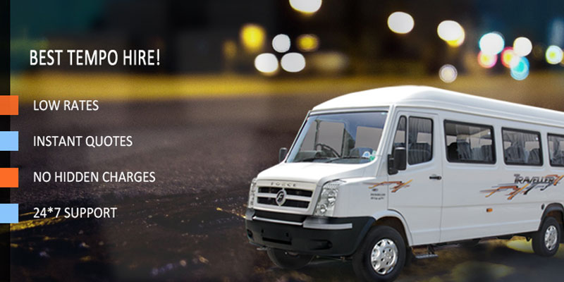 Tempo Traveller for Hire in Bangalore ,cabsrental.in