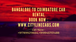 Car rental in Coimbatore with driver.cabsrental.in