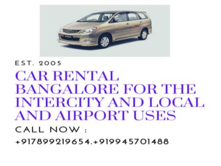 INTERCITY Car rental service in Bangalore.cabsrental.in