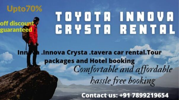 Toyota Innova Crysta Rental in Bangalore.cabsrental.in